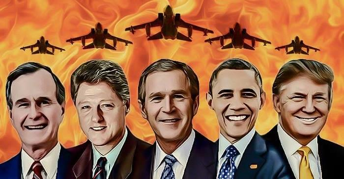 The planet cannot begin to heal until we rip the mask off the West?s war machine